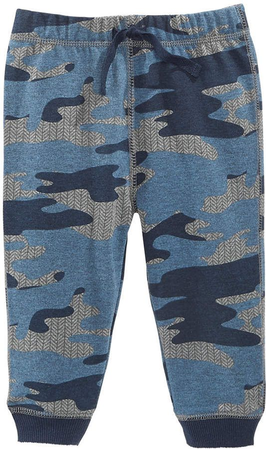 3320f7c70 First Impressions Baby Boys Camo-Print Jogger Pants, Created for Macy's