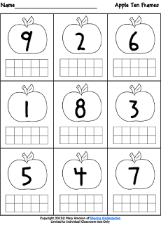 A is for Apple | Pinterest | Ten frames, Activities and Math