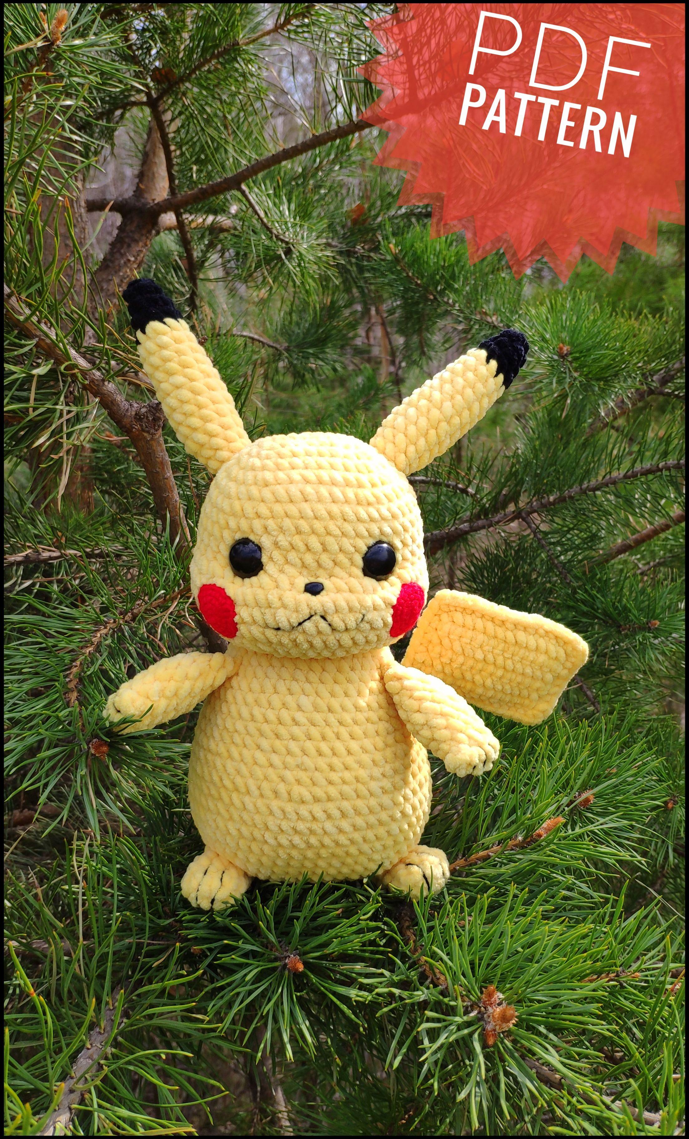 free patterns | Pokemon crochet pattern, Crochet pokemon, Crochet ... | 3647x2208