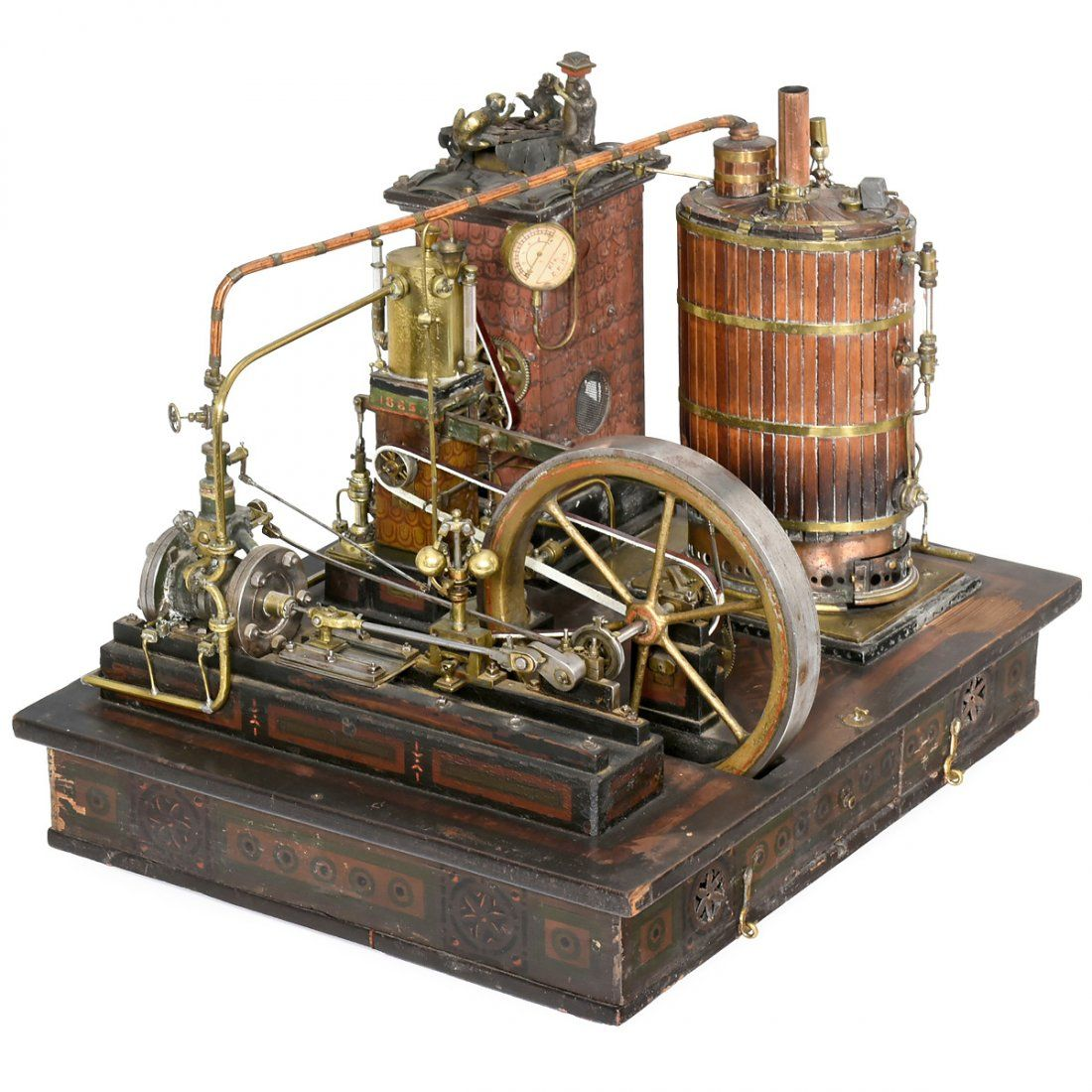DIY Homemade Steam Engine Running Made Without Any Machining – Diagram Of Steam Steam Engine For Movement