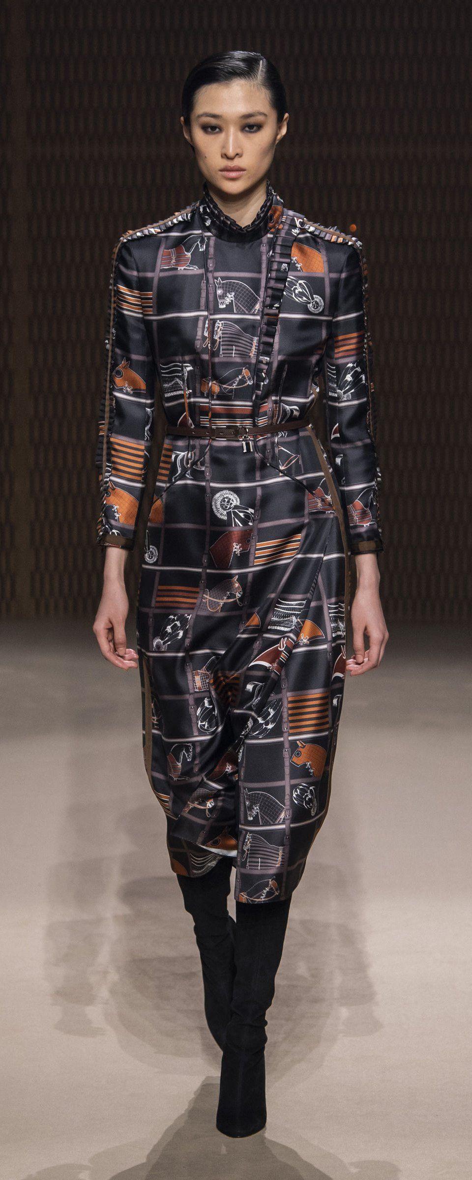 c1d0273f Hermes Fall-winter 2019-2020 - Ready-to-Wear in 2019 | Trend 2019 ...