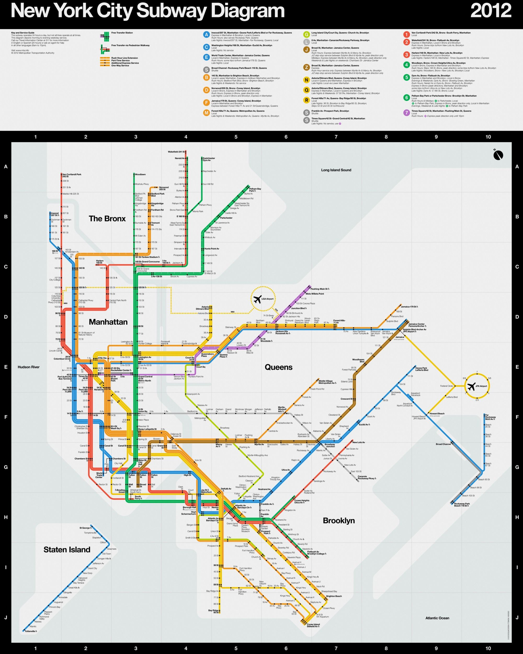 Vignelli Subway Map Pdf.Massimo Vignelli New York City Subway Design Fundamentals