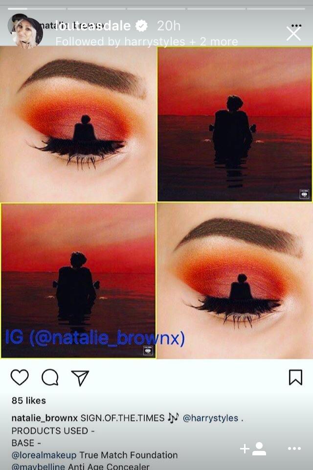 I need the SOTT eye makeup Harry styles eyes, One