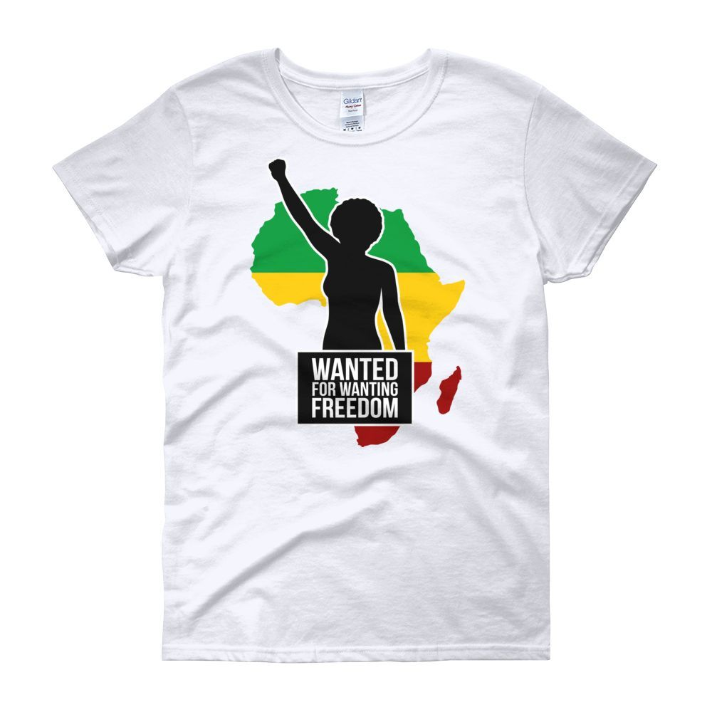Wanted for Wanting Freedom Short Sleeve Women's T-Shirt by RBG Forever
