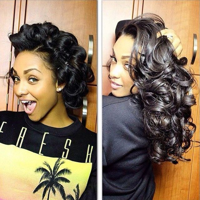 Pin Curls Long Hair Styles: Pin Curls Create Beautiful Curls! Have You Tried This