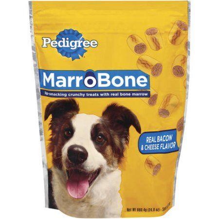 Pedigree Marrobone Bacon & Cheese 24 oz. Dog snacks, Dog