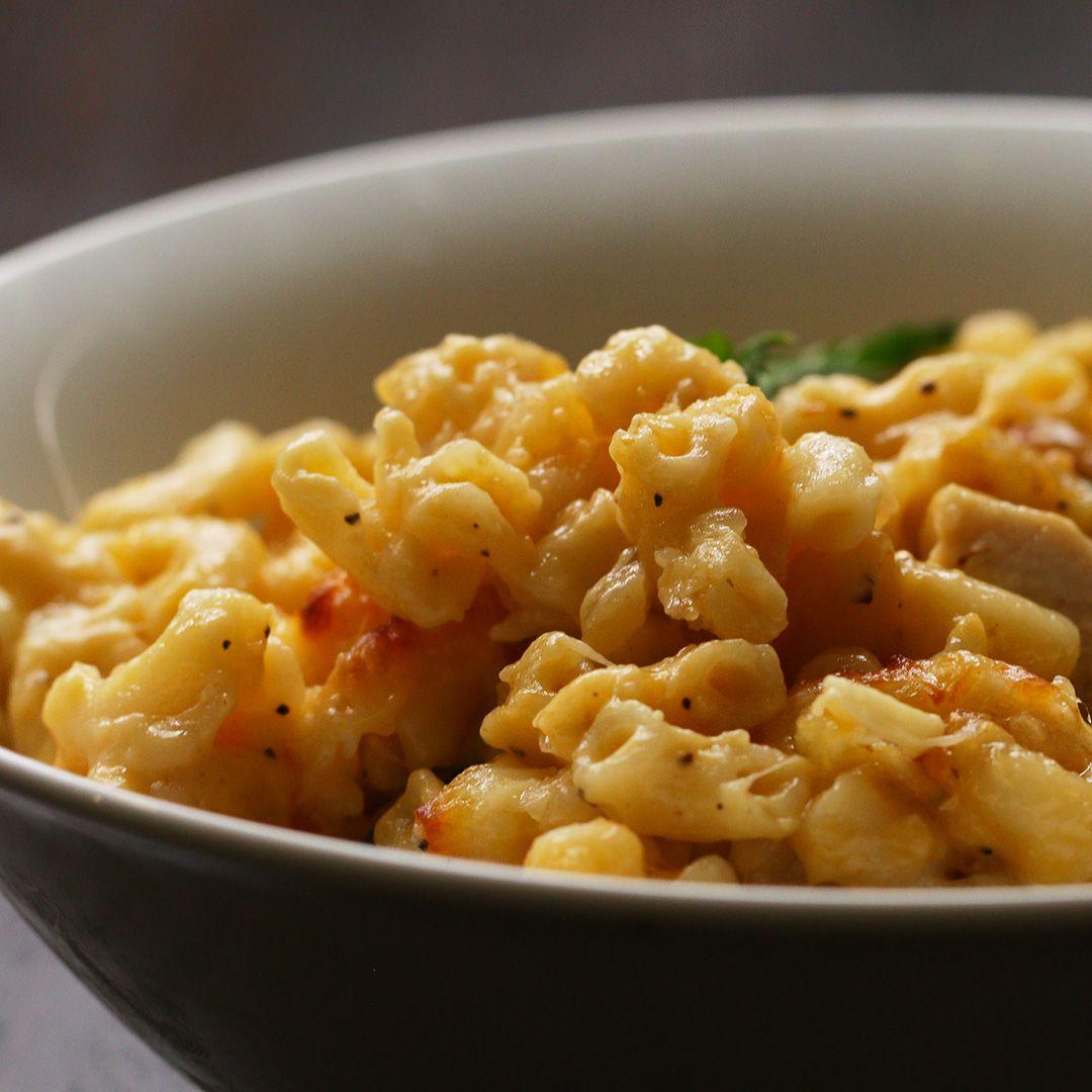 "Znalezione obrazy dla zapytania: Butter Chicken Mac 'n' Cheese tasty channel curry night"""