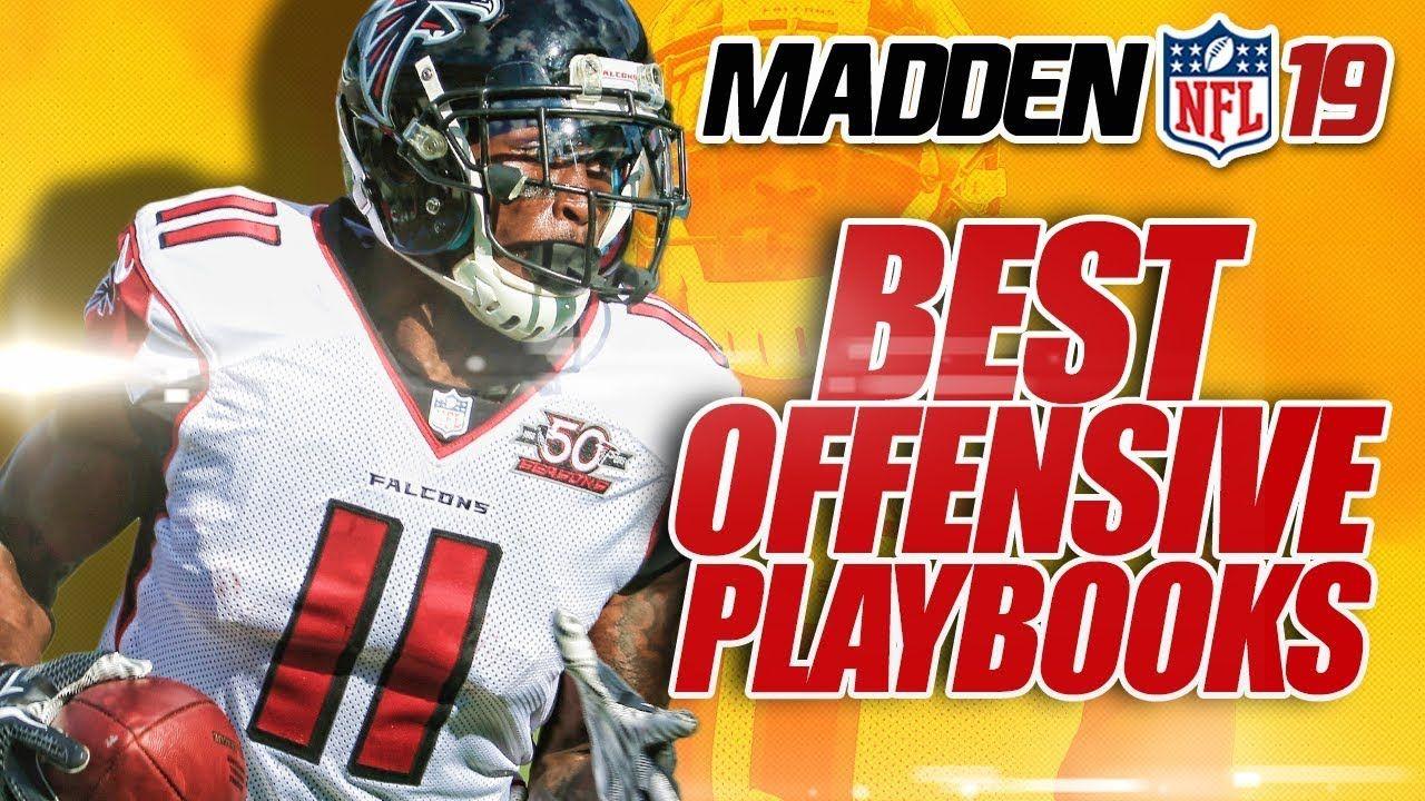 Madden 19 BEST Offensive Playbooks & Plays!   Madden NFL 19