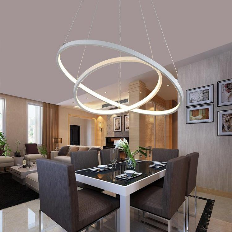 48 Beautiful Dining Rooms With Hanging Lights Dining Room Design Mesmerizing Modern Dining Room Pendant Lighting Property