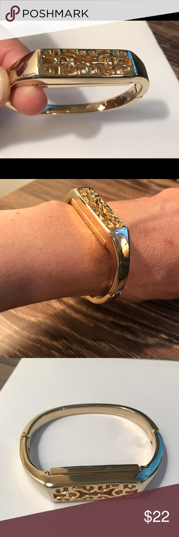 Fitbit flex gold bangle gold bangles fitbit and bangle