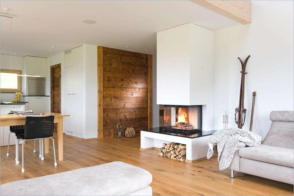 Wohnzimmer Rustikal Modern Modern Rustikale Wohnzimmer Mit Kamin ...