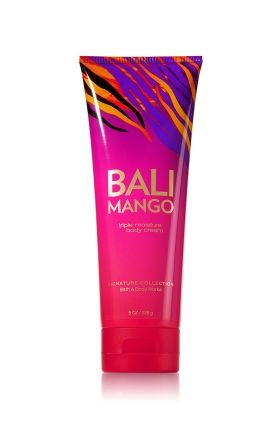 Bath Body Works Bali Mango Triple Moisture Body Cream Do You