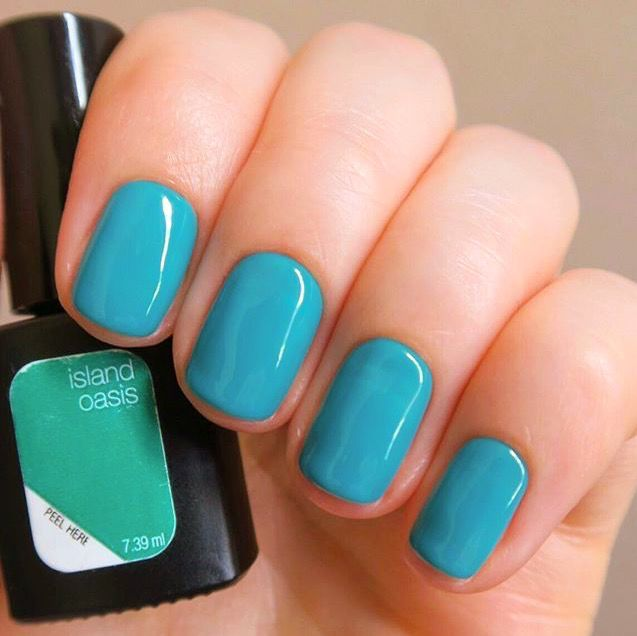 Island Oasis Perfect For The Summer State Of Mind Gel Nail Colors Sensationail Gel Polish Sensationail
