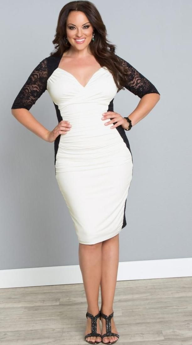 Plus Size Prom Dresses With Sleeves New Arrived White Lace Plus Size