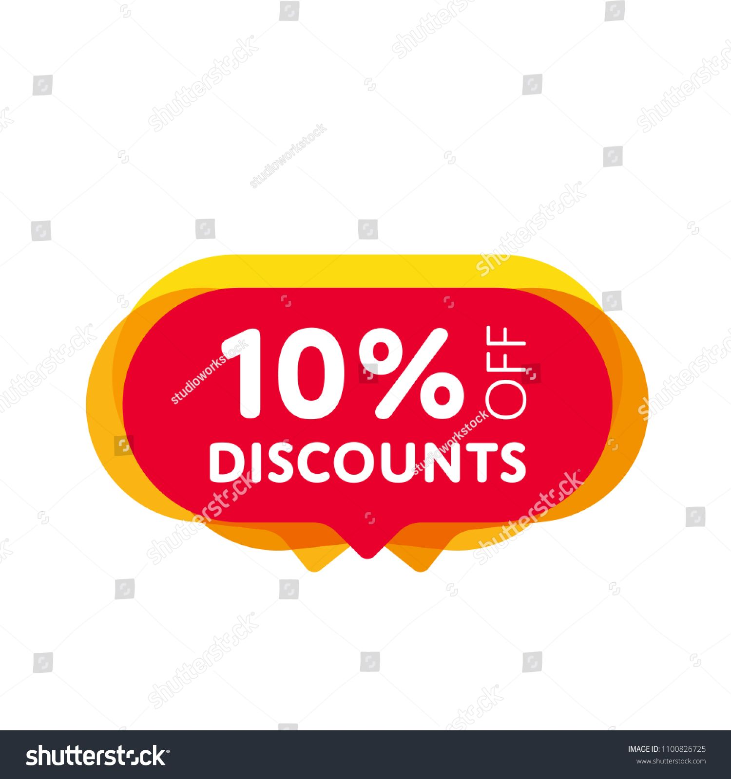 Special offer sale red tag isolated vector illustration. Discount offer  price label, symbol for advertising campaign in retail, sale promo  marketing, ...