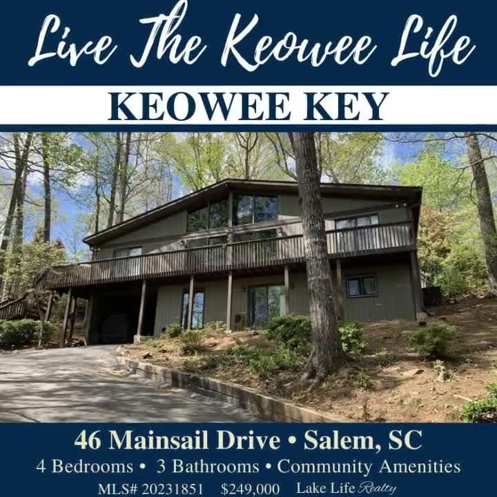 Everyday's a vacation when you live in Keowee Key! ☀️ Ready to make a move or want to learn more? Visit WeSellTheLakes.com to get started! #LakeLifeRealty #RealEstate #Realtor #RealtorLife #NewListing #JustListed #SouthCarolina #ForSale #HouseHunting #ForSale #KeoweeKey #LakeKeowee #KeoweeLife #WelcomeHome #HomeSweetHome #DreamHome #LakeLife #LoveWhereYouLive
