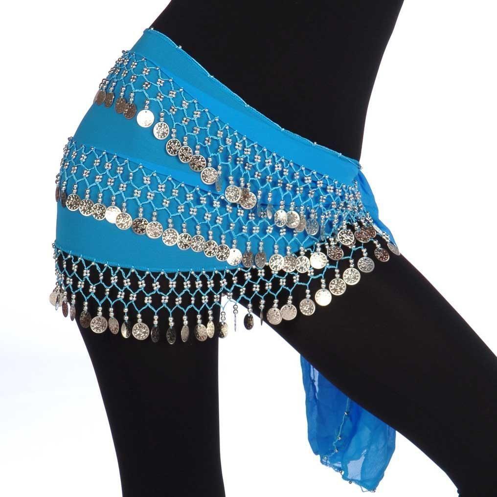 Plus size hip scarf bellydance or fashion