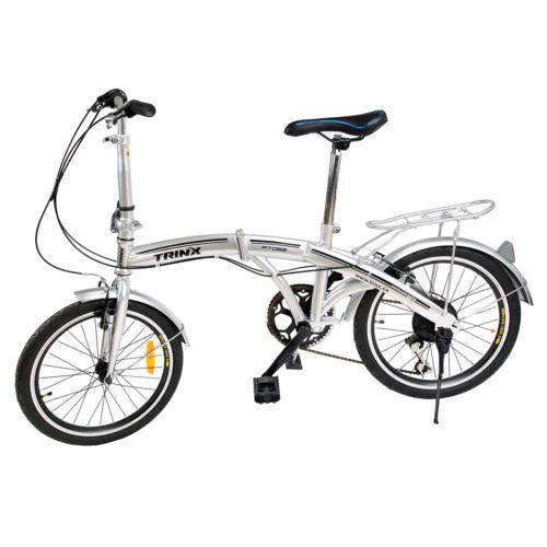 94741 Bicycles Folding Bike 20 Shimano 6 Speed Bike Fold Storage