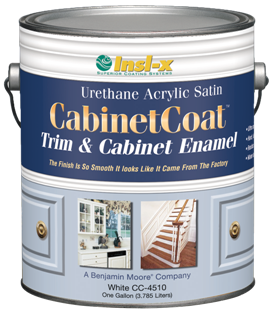 Delightful Insl X Cabinet Coat Paint: Water Based So It Wonu0027t Yellow Like Oil Based  Paints. Also, It Is Self Leveling, Which Will Reduce Brush Strokes, And  Will Harden ...