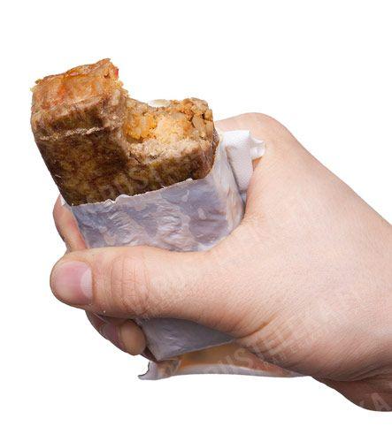 Bullet Meal 500 MRE sandwich