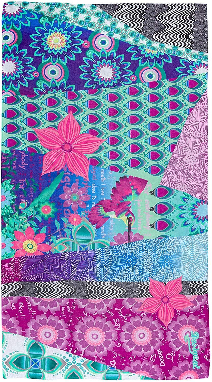 2fd065e86b54c Desigual Allegra Carry - Foulard - Imprimé - Femme - Multicolore (Maracuya)  - Taille