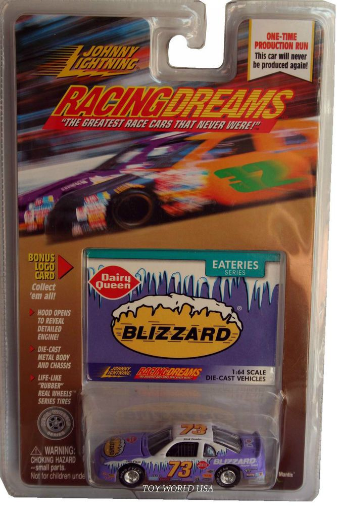 Johnny Lightning Racing Dreams Chevrolet Monte Carlo Dairy Queen