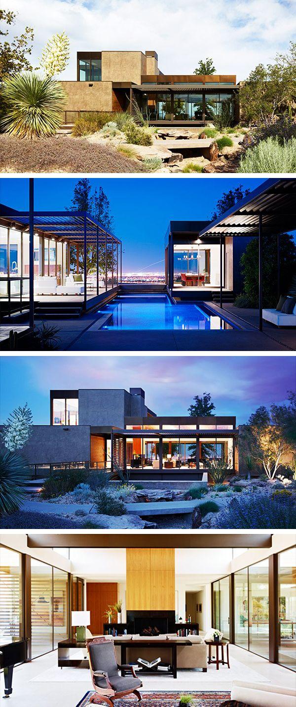 Las Vegas Residence By Marmol Radziner In Las Vegas Nevada Las Vegas Homes Architecture Las Vegas