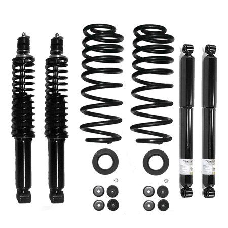 Air to Coil Springs /& Shocks Conversion Kit for 1997-2002 Expedition 4WD