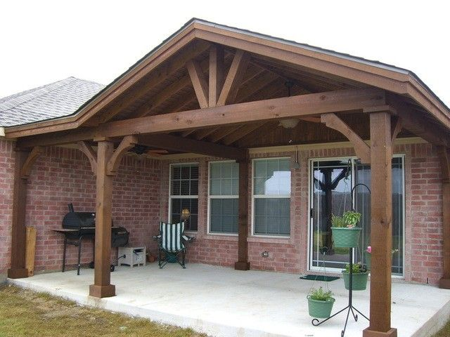 Best Full Gable Patio Covers Gallery Highest Quality 400 x 300