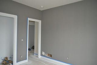 Dove Tail Gray Walls For Going Upstairs Bedroom Colors