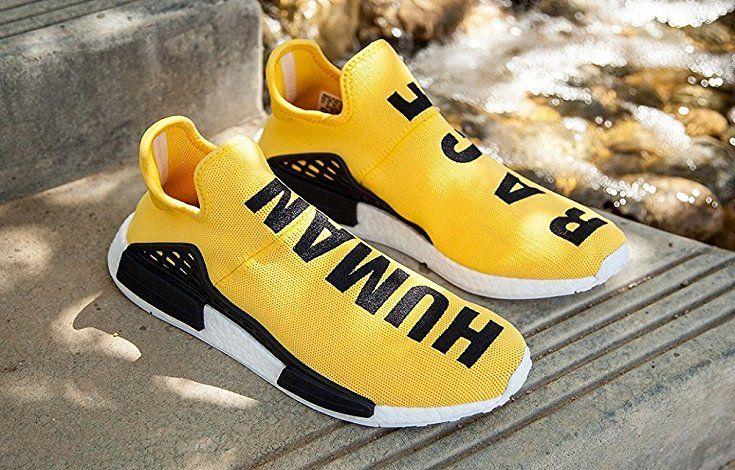 49b03d5d1b8e3 Adidas,X Pharrell Williams NMD HU Human Race New Yellow Athlete ...