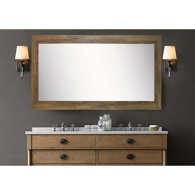 Photo of Gracie Oaks Lunt Farmhouse Bathroom/Vanity Mirror | Wayfair