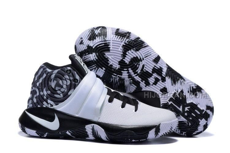 sale retailer d2fbf 678c2 Only 95.00  NIKE KYRIE 2 BLACK WHITE BASKETBALL  SHOES Free Shipping!