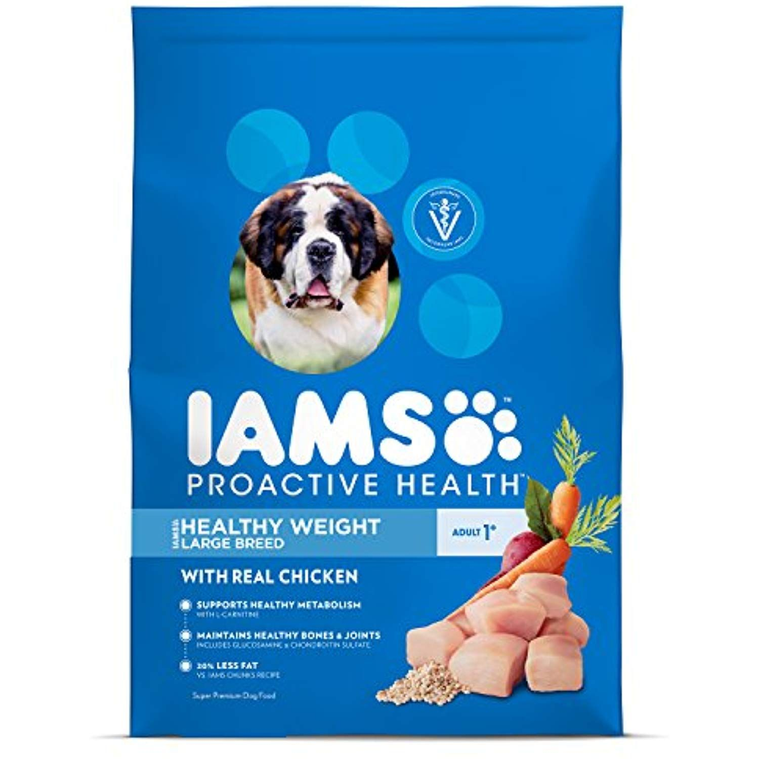Iams Proactive Health Dry Dog Food Large Breed Optimal Weight