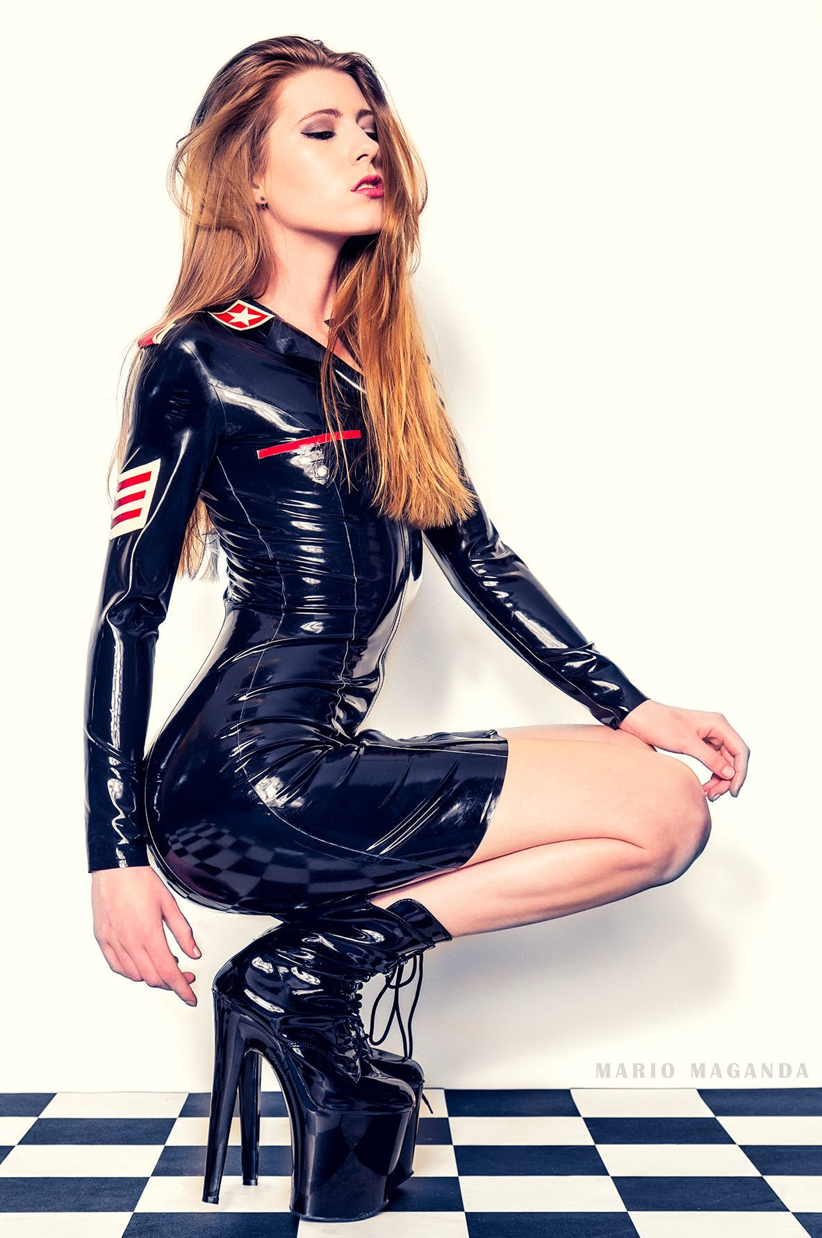 Pin on ☢ Latex ️ Leather ☢