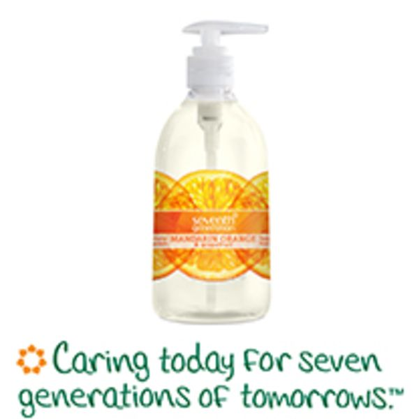 Try The Refreshing Natural And Clean Smell Of Seventh Generation