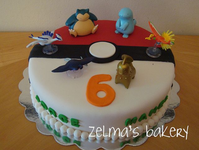 pokemon cake view 1 cake birthdays and fondant. Black Bedroom Furniture Sets. Home Design Ideas
