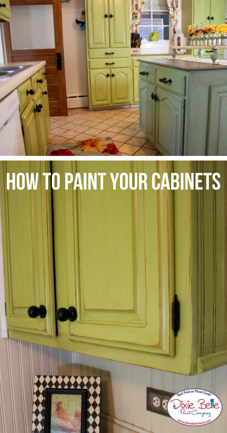 Learn How To Paint Your Kitchen Cabinets From Dixie Belle Paint Company Read More On O Pallet Furniture Blueprints Refinishing Furniture Diy Dixie Belle Paint