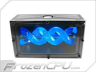 Frozenq Liquid Fusion Dual Bay Reservoir W Swiftech Mcp655 Series