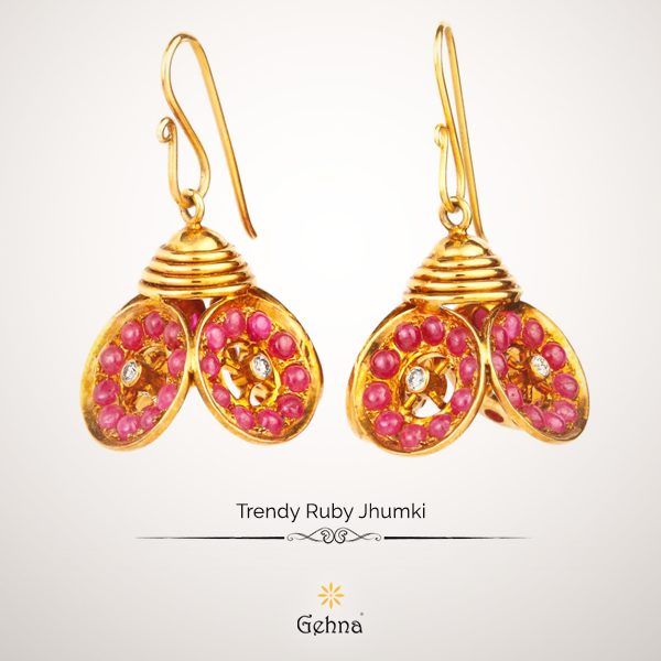 The age-old jhumki gets a modern twist!