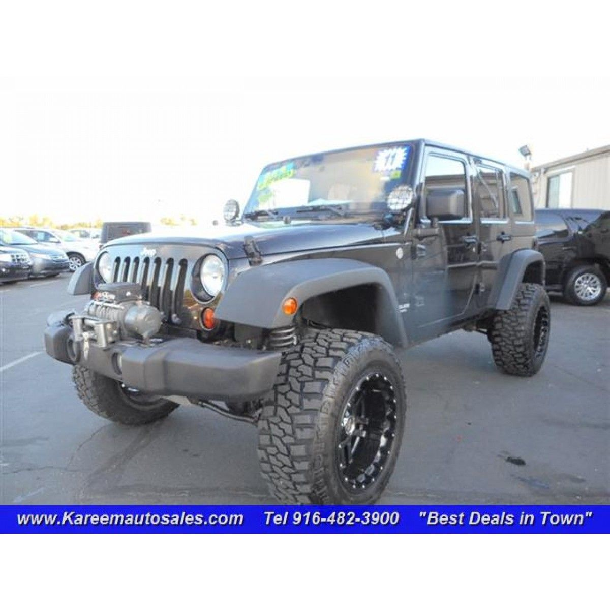 2011 jeep wrangler unlimited sport 4wd unlimited sport 4wd kareem auto sale 916 482