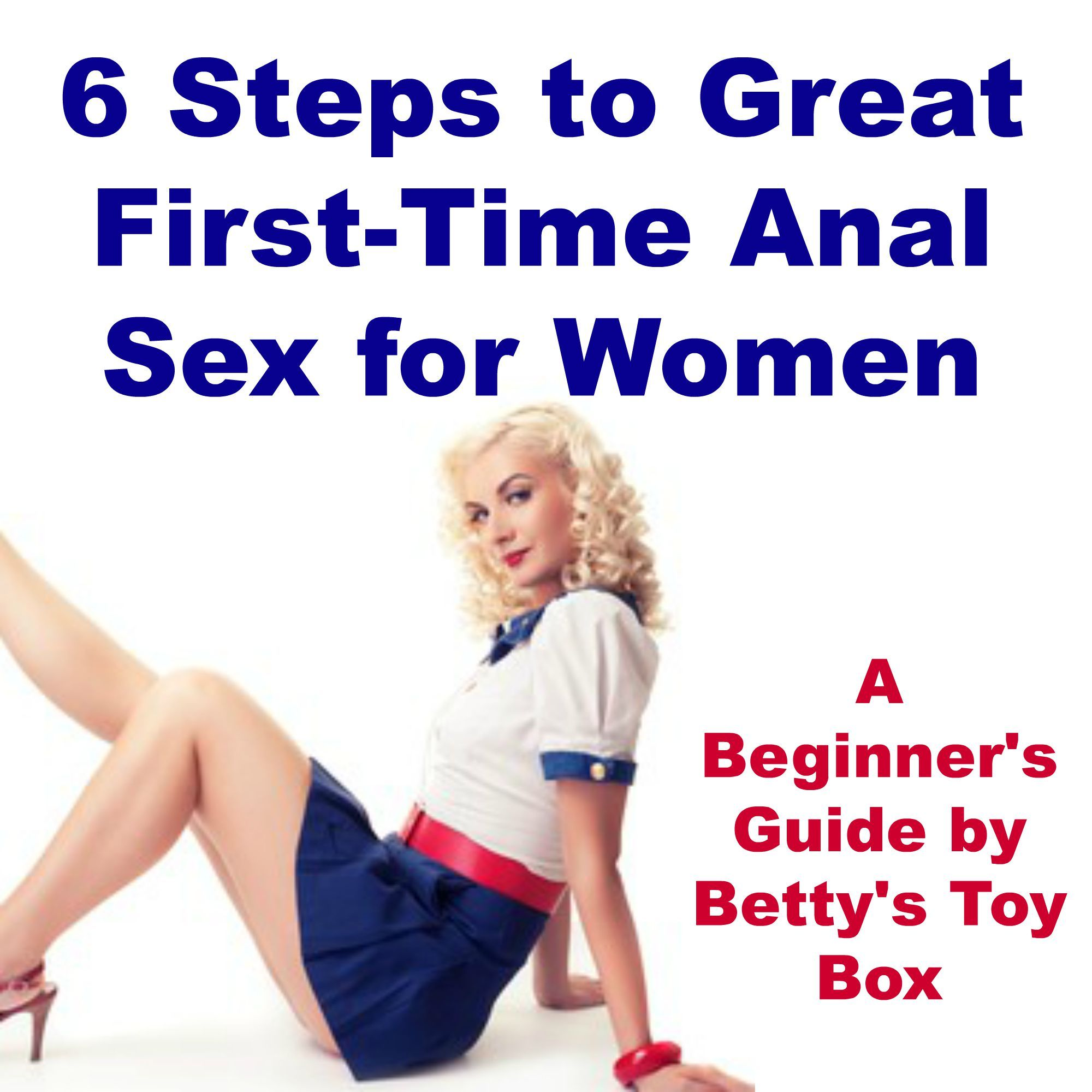 Steps to anal intercourse