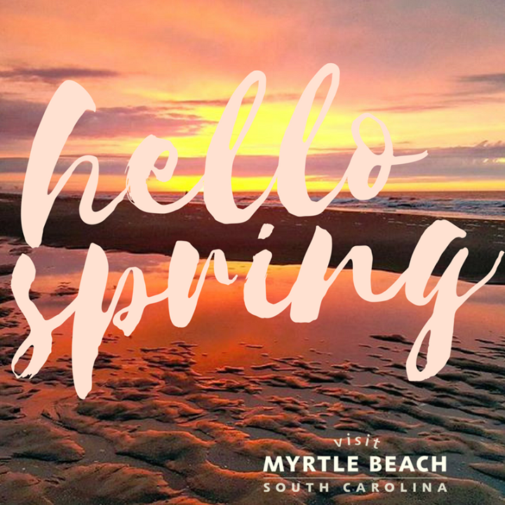Hello Spring! Take advantage of warmer weather with