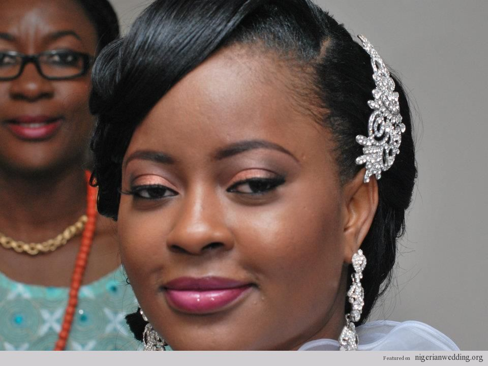 Gorgeous Nigerian Wedding Hairstyles & Make Up By Kemi