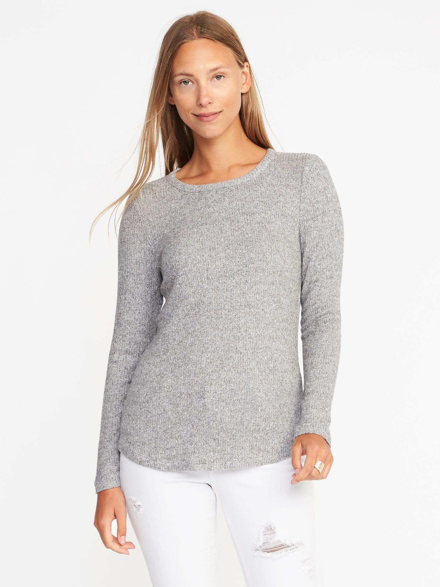 53cb4fb9c34 Plush Rib-Knit Pullover for Women | Old Navy | Tops | Sweaters ...