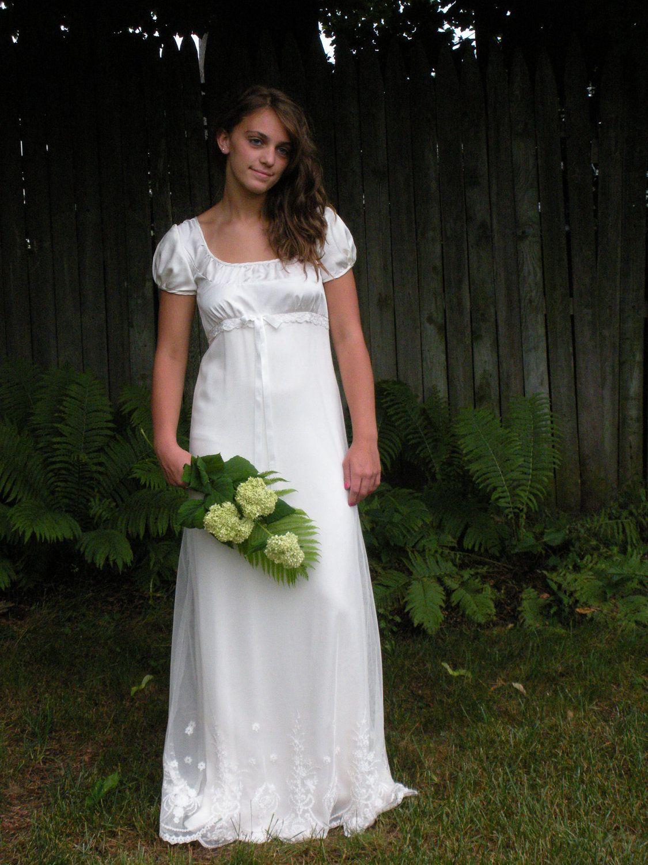 Pride and Prejudice Victorian Renaissance Steampunk Ivory Wedding ...