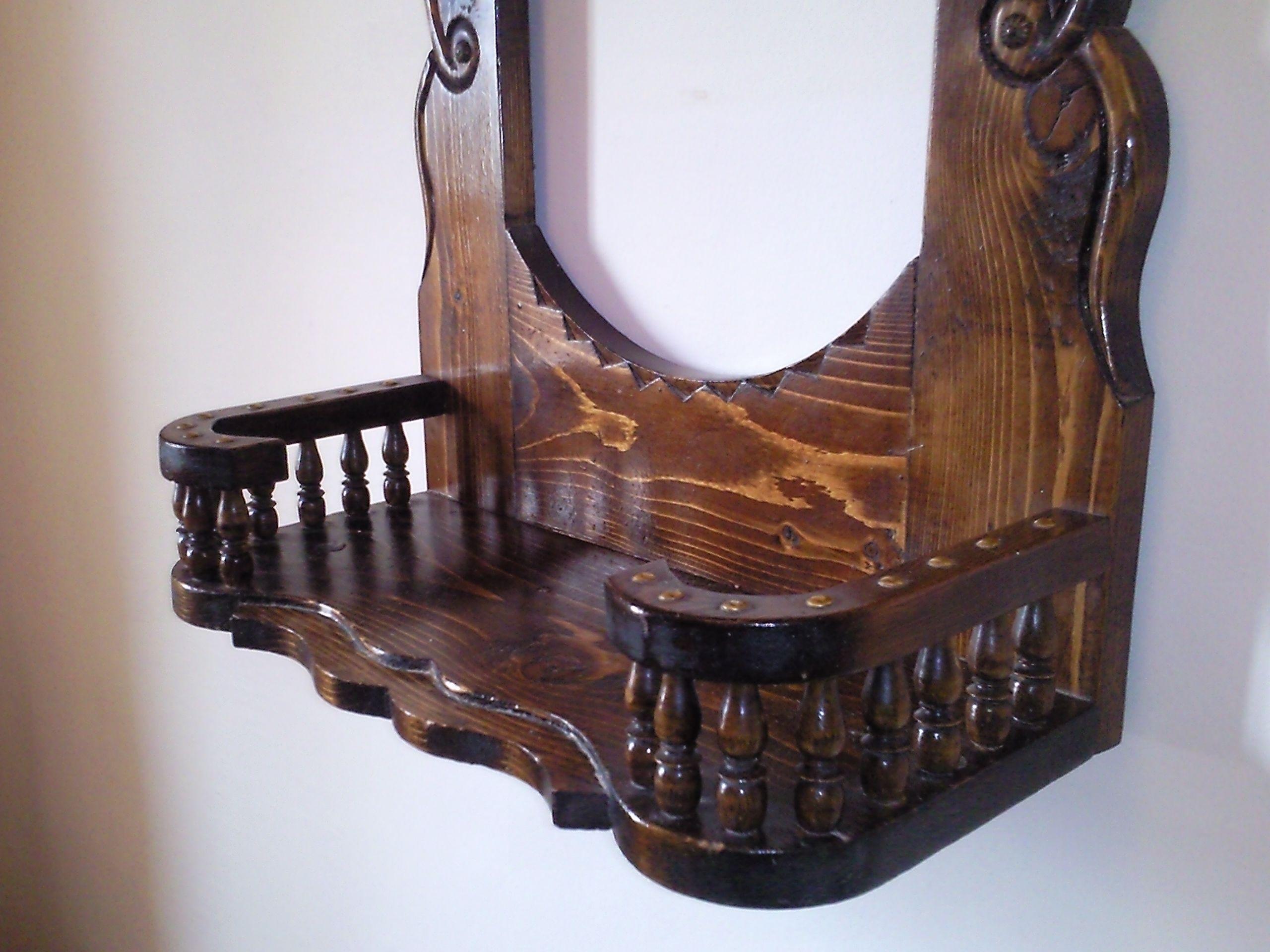 رف اسفل اطار المرآة Home Decor Furniture Decor