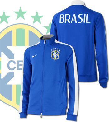 ブラジル代表2014 N98 オーセンティック・トラックジャケット (バーシティロイヤル)