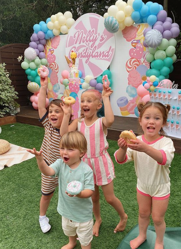 Inside Billie Faiers daughter Nellys magical Candyland