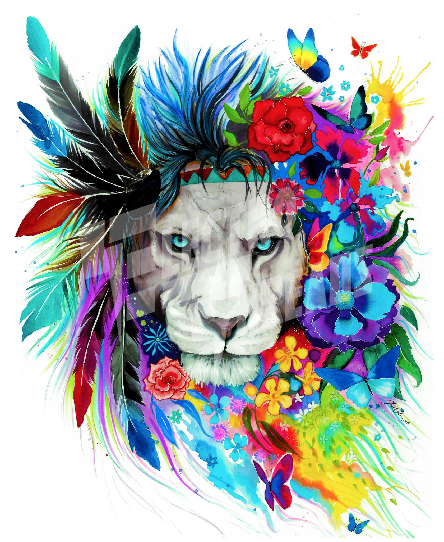 King of Lions Blanket | Leones, León y Lion